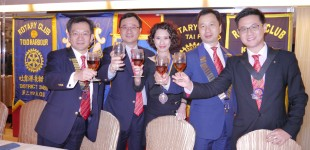 Toasting from RC of New Territories