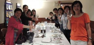 Toasting from RC of Bayview Sunshine HK