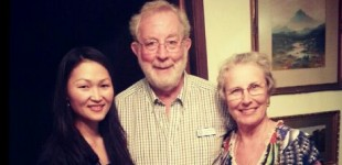 Rotarian Neil & Lynn McPherson - Host family of Bolor at Ashmore