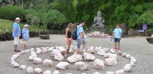 Mar 30 Visit to the Crystal Garden at Ballina