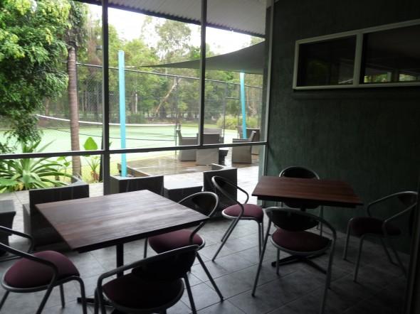 A nice area for breakout or tea break