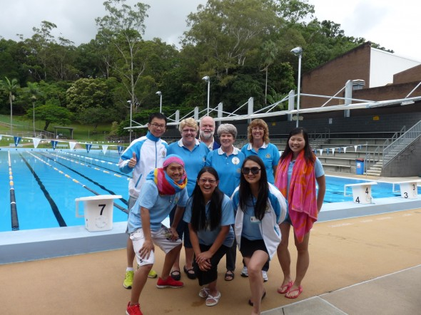 Group photo after the swim!