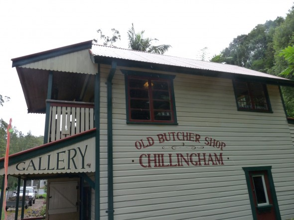 The Potter's Gallery was the home of the old butcher!